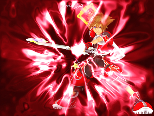 Sora's Valor Form Wallpaper by YunieSummoner on DeviantArt