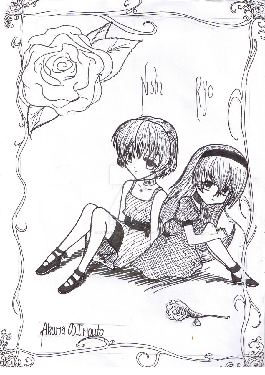 Nishi and Ryo hehe :3 by RikaChamaDesu