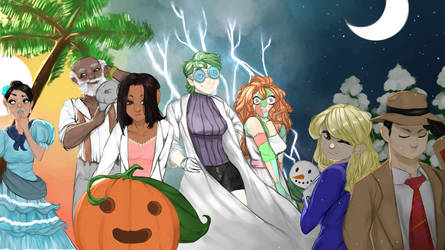 Pumpkin Online Fanart Contest Entry by RevyOwls
