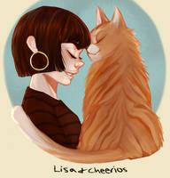 Pet friend by RevyOwls