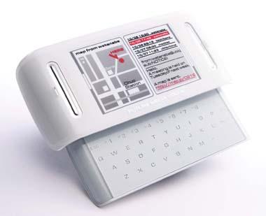 Fujitsu Prototype Cellphone