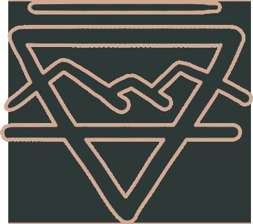 The Mountain Biome badge.