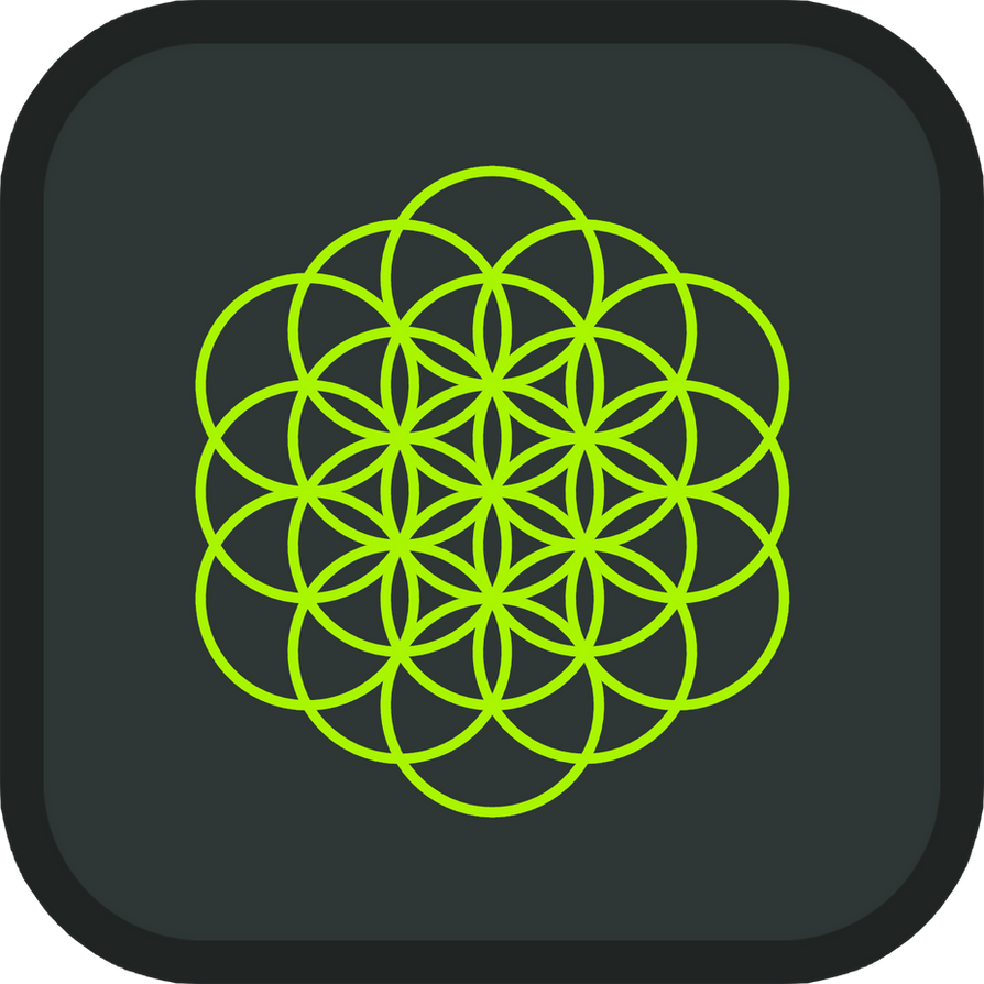 Player Level: Nature Spirit icon, depicting a flower of life.