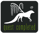 A Walk in the Woods: Quest Completion Badge by Esk-Masterlist