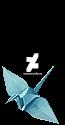 A paper crane.