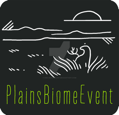 The Plains Biome Event badge. It's got a little esk out on the grasslands, at set of sun.