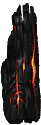 A smoldering ember.