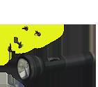 Broken flashlight by Esk-Masterlist