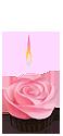 Rose cupcake by Esk-Masterlist