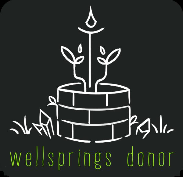 Wellsprings Donor Badge
