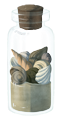 Shell Bottle by Esk-Masterlist
