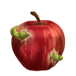 Wormy Apple by Esk-Masterlist