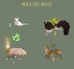 March Free Esk Raffle [closed]