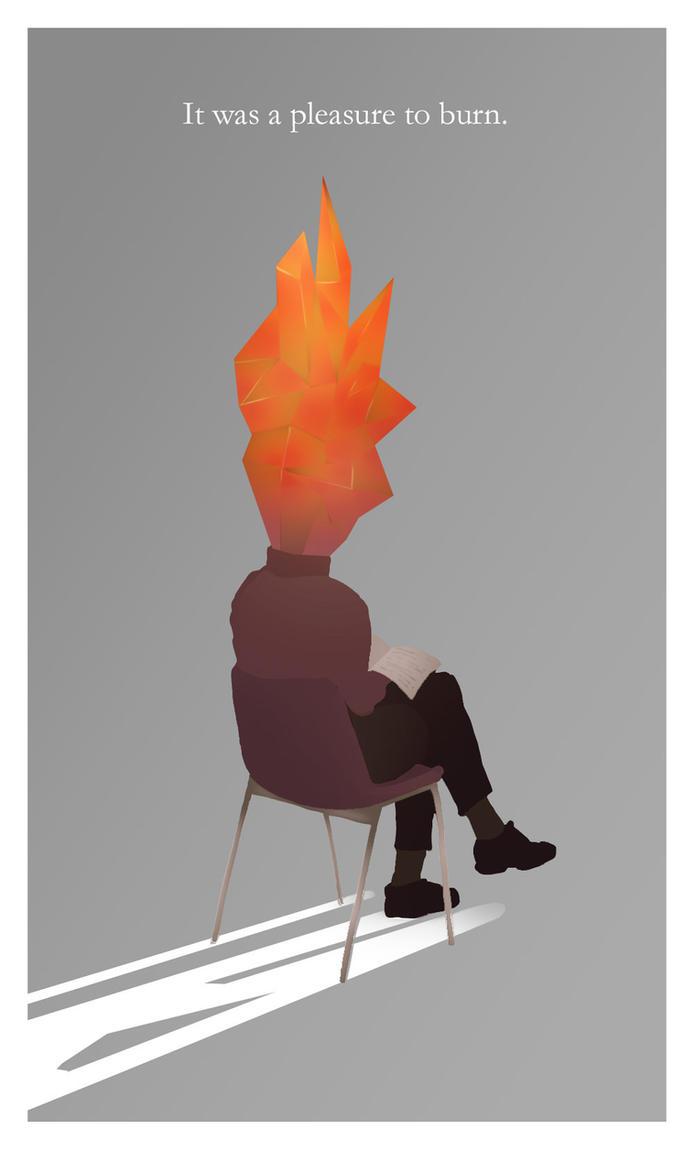 Fahrenheit 451 W by artofiz