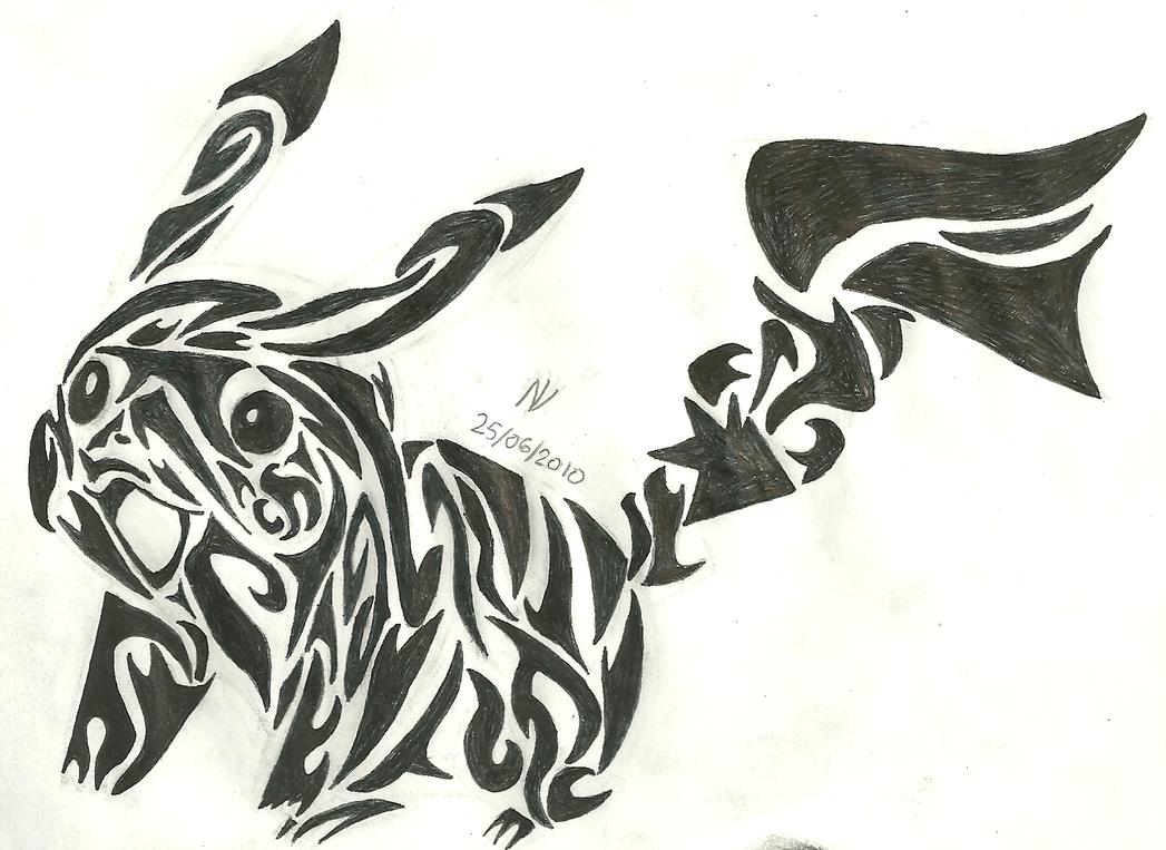Tribal Pikachu by md427