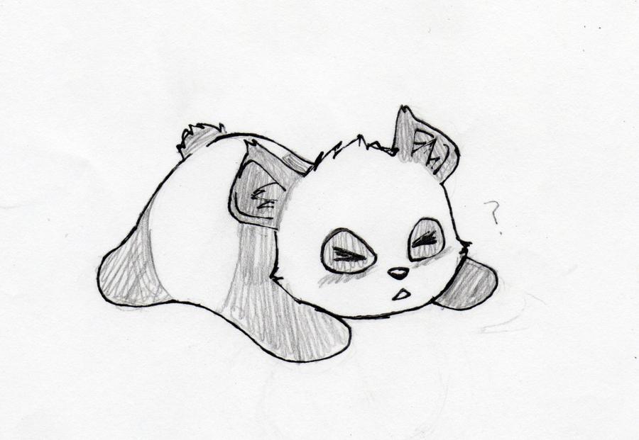panda oof sketch by adrenalynne on deviantart