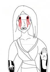 Blind woman by NightmareOnElmStFan