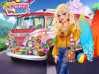 Girls hippie weekend (Aurora) by NightmareOnElmStFan