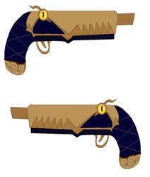Blitzo's flintlock pistol