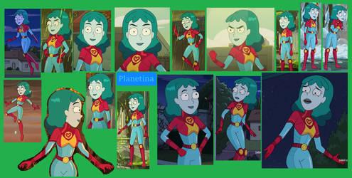 Planetina-Rick and Morty wallpaper