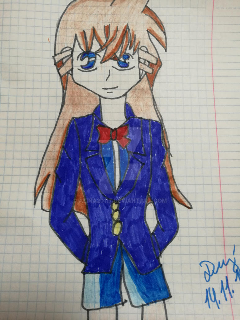 Detective Conan Ran Mori (Small) by Alina20117