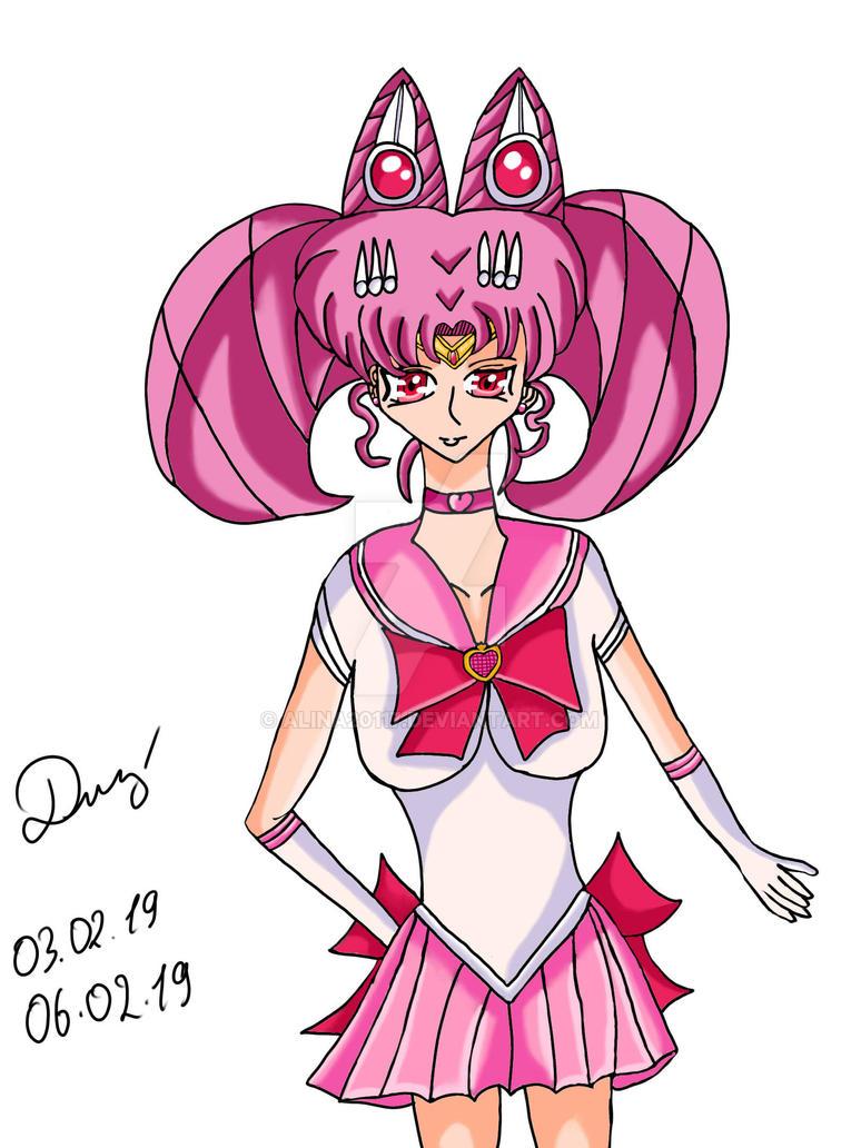 Sailor Chibimoon by Alina20117