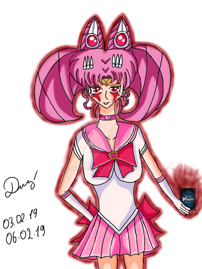 Sailor Chibimoon Link Joker by Alina20117