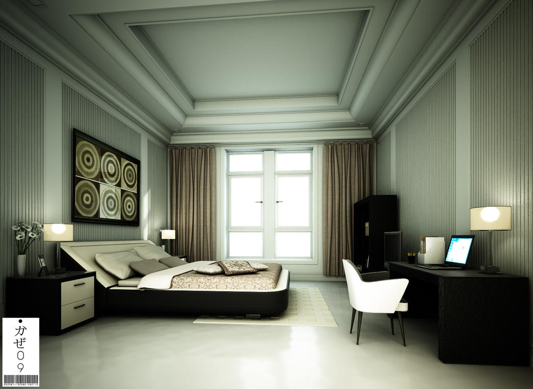 modern classic bedroom design modern classic bedroom 02 by kaze09 on deviantart 16343