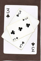 Three of clubs by Wolfgang-III