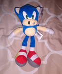 Jazwares dark blue Modern Sonic plush toy