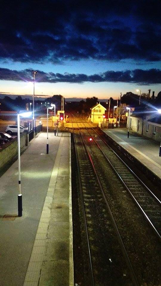 Train Station 6 A.M by FlawedHumanity