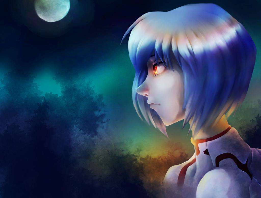 Rei, Neon Genesis Evangelion by Shane-vds