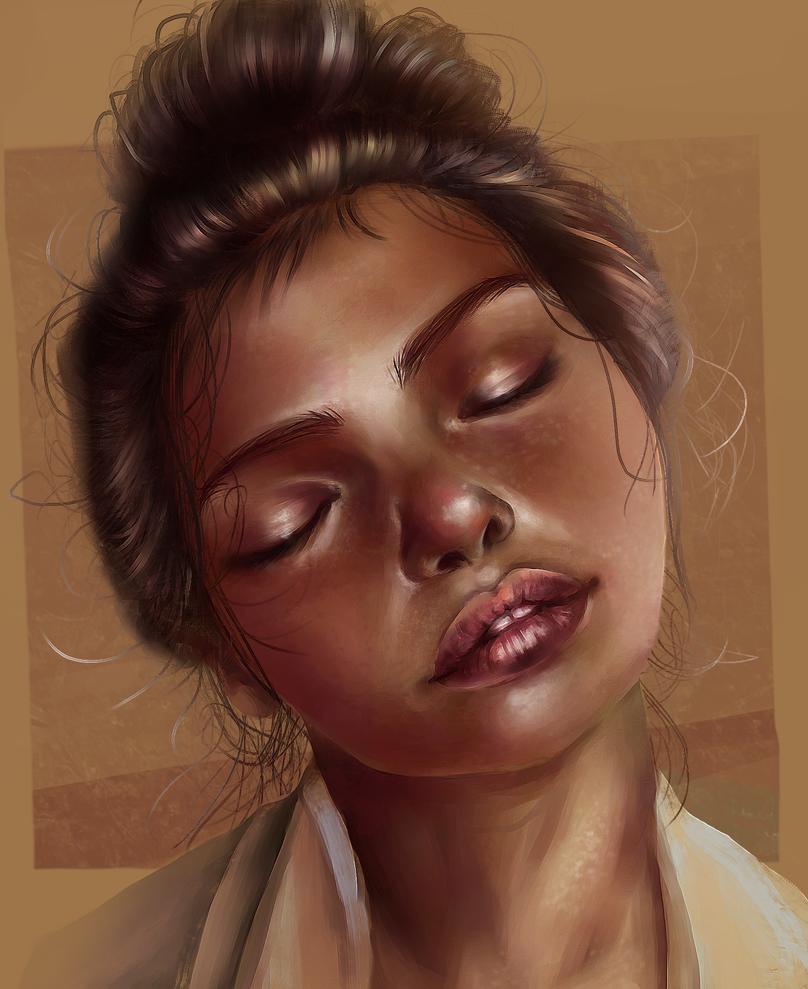 Portrait Study 2 by Shane-vds