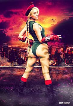 Cammy 'Street Fighter' Cosplay by dennybusyet