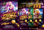 Party Anthem Nightclub Psd Flyer Template