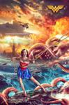 Wonder Woman VS The Octopus
