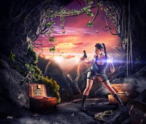 Niki Croft : The Lost Treasure by dennybusyet