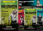 Trick Or Treat Halloween Flyer Template design