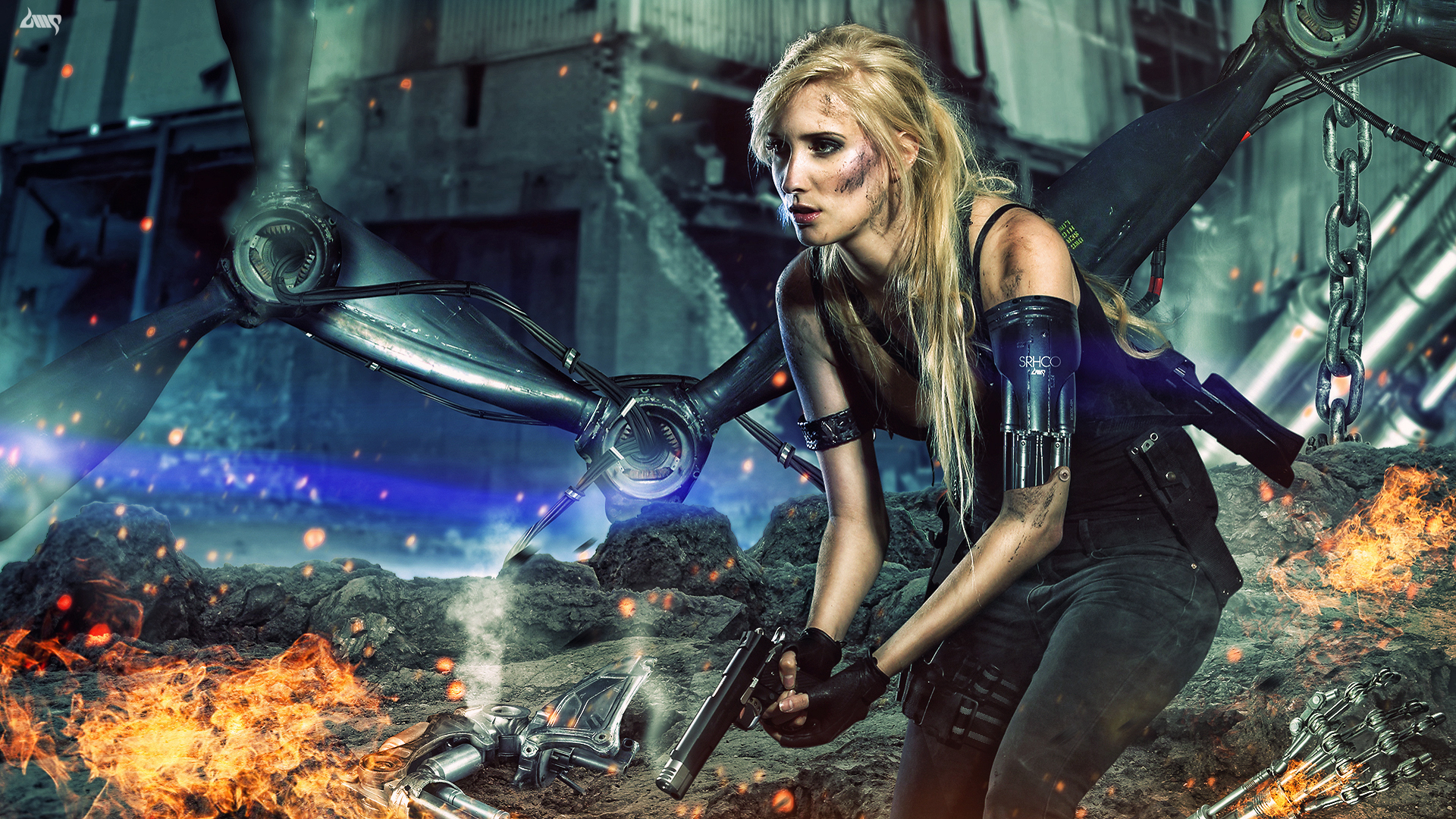 Sarah Connor The Terminator Chronicles by dennybusyet
