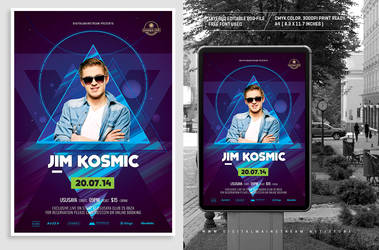 Special Dj Electronic Dance Music Flyer / Poster 3 by dennybusyet