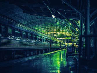 Train Station by Relapse11