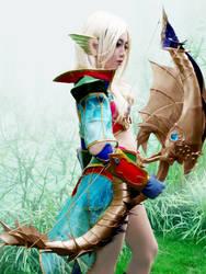 the half elf by oruntia