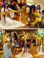 Saint Seiya - Megaxus Cosplay by oruntia
