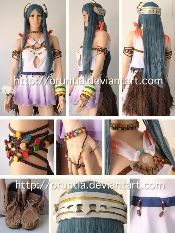 Paddra Nsu-Yeul Costume by oruntia
