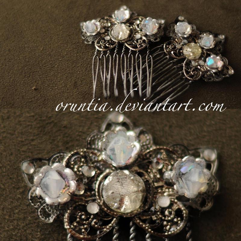 Custom Metals Hairpin by oruntia