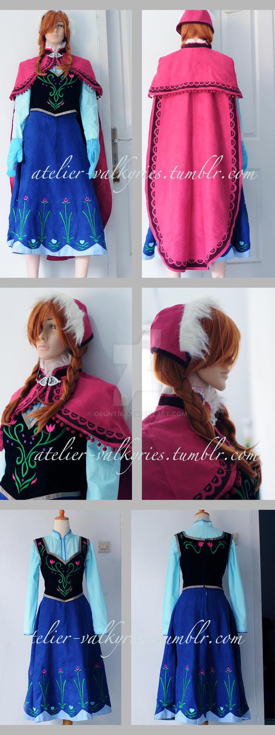 Frozen - Anna (adventure) Costume by oruntia