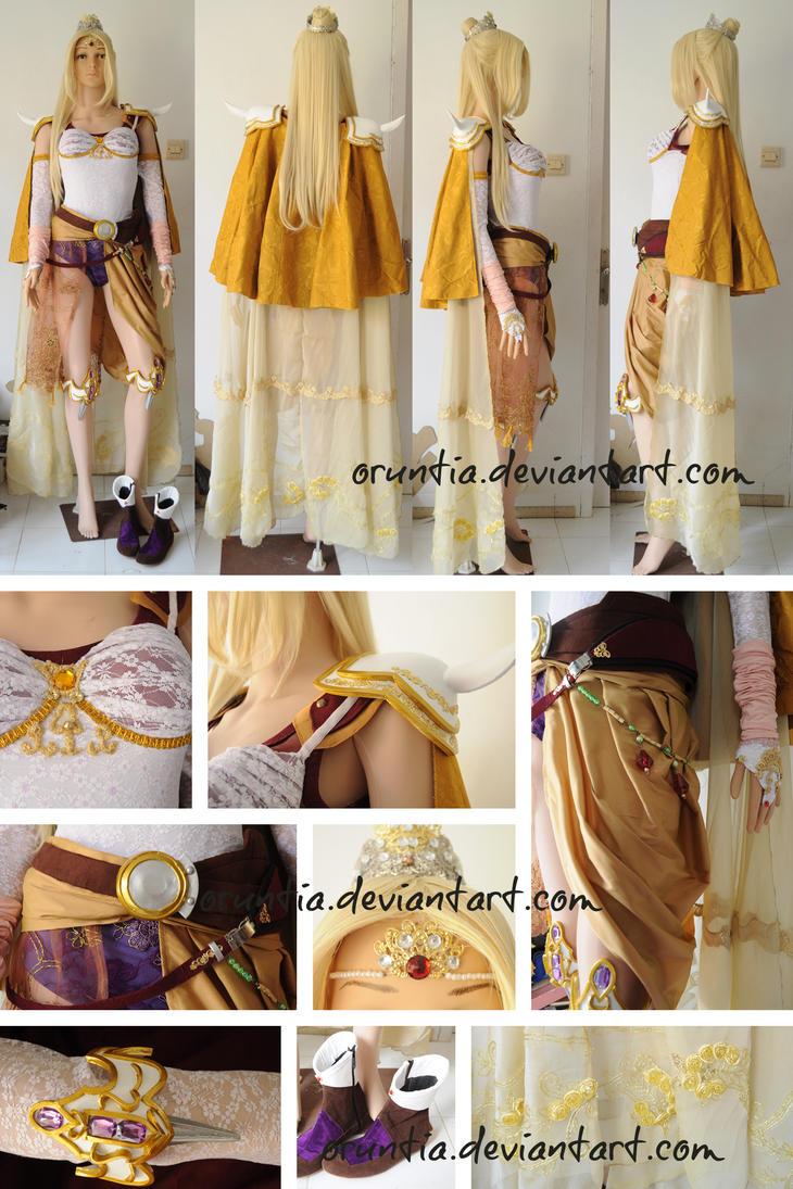 Rosa Farrel Costume by oruntia by oruntia