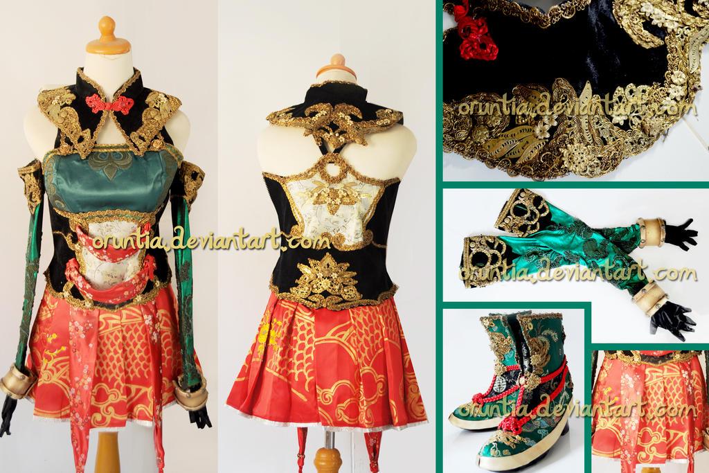 Guan Yinping DW 8 costume by oruntia
