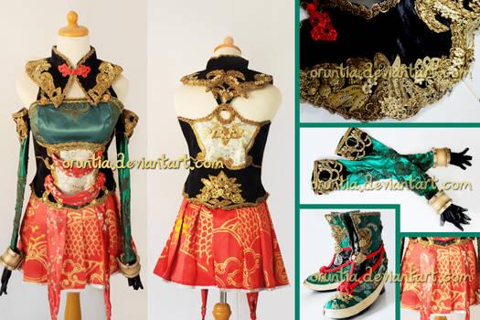 Guan Yinping DW 8 costume