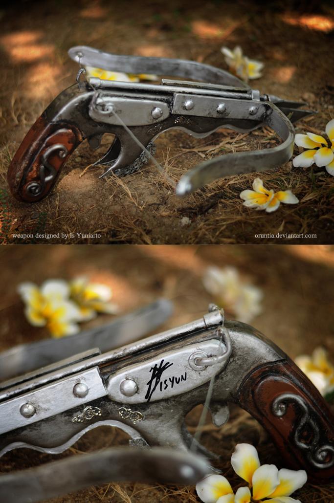 Garudayana: Kinara's weapon by oruntia